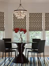 glass shade contemporary chandelier table. Roman Shade Ideas Dining Room Contemporary With Glass Chandelier Modern Dining. Image By: Lizette Marie Interior Design Table R