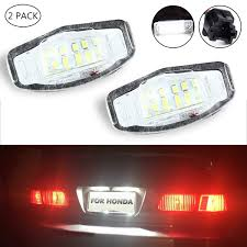2013 Dodge Charger License Plate Light Amazon Com License Plate Light Lenses Umiwe Number Plate