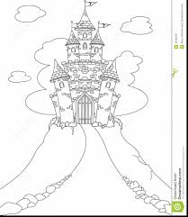 fabulous princess castle coloring pages with candy cane coloring ...