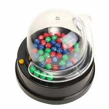 Bingo Ball Generator Electric Lucky Number Picking Machine Mini Lottery Bingo Games Shake Lucky Ball