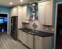 flooring or kitchen cabinets