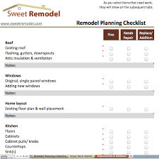 whole house renovation checklist remodel planning checklist checklist to go through when planning a