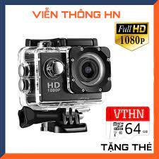 Camera hành trình xe máy 2.0 full hd 1080p Sport Cam A9 - máy quay phim  mini chống nước chống rung - vienthonghn giá cạnh tranh