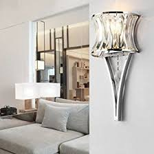 modern minimalist wall lamp living room crystal foyer bedside aisle lights amazoncouk lighting modern lights for i9