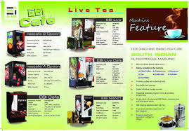 Vending Machine Brochure Best South Indian Filter Coffee Vending Machine At Rs 48 Piece