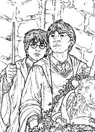 Harry Potter En De Geheime Kamer Kleurplaat 451319 Kleurplaat