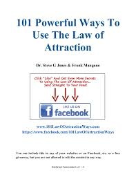 powerful ways to use the laws of attraction