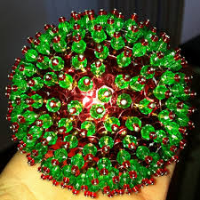 How To Decorate Styrofoam Balls 100 best PerlesSequins images on Pinterest Christmas balls 37