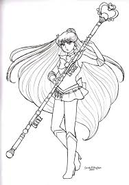 Small Picture Colorear Raquel Meiou es Sailor Pluto LineArt Sailor Moon