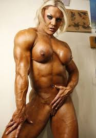Beautiful girls with muscles  a lot of female bodybuilders  fitness babes   naked muscular