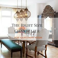 facebook twitter google finding the right size chandelier to compliment your dining table