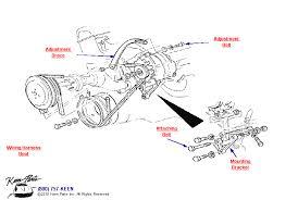 corvette wiring diagram wirdig block alternator out power steering diagram for a 1972 corvette