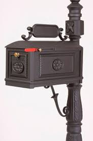 Decorative Mail Boxes Better Box Mailbox Black Residential Curbside High Quality 10
