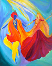 if you are planning on painting love in the form of an abstract painting of love then you need to be clear on which kind of love you will be depicting