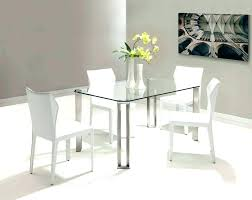 small glass dining table and chairs small glass kitchen table set breakfast white round dining large