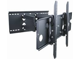 titan series full motion wall mount for large 32 60 inch tvs 175lbs black com