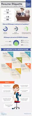 Resume Infographic Template Modern Resume Template Here Are The Do's and Don'ts [Infographic 69