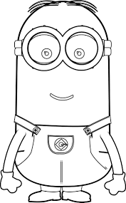 Minions in snow coloring page. Minions Kevin Perfect Coloring Page Minion Coloring Pages Minions Coloring Pages Minion Painting