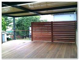 deck privacy screen ideas panels outdoor canada idea