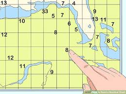 Nautical Chart Numbers How To Read A Nautical Chart 15 Steps Wikihow