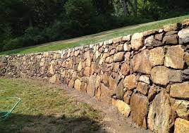 southbury ct stone or block walls