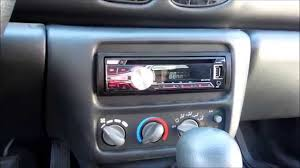 how to install aftermarket stereo pontiac sunfire