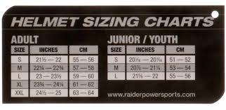 Raider Youth Helmet Sizing Chart Details About Adult Raider Edge Dual Sport Helmet Mx Atv Dirt Bike Off Road Motorcycle Dot Ece