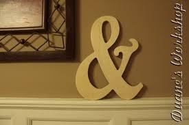ampersand decoration