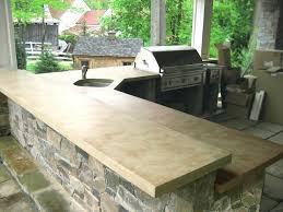 superb outdoor kitchen countertops countertop outdoor kitchen concrete countertop sealer