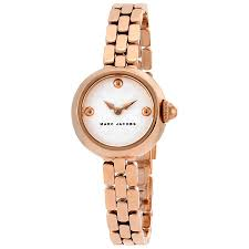 marc jacobs watches jomashop marc jacobs courtney silver dial ladies rose gold watch