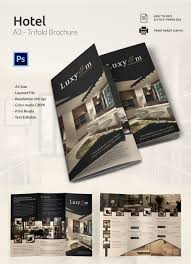 popular psd hotel brochure templates premium templates modern a3 tri fold brochure template