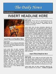 Newspaper Template For Google Docs Newspaper Template For Google Docs By Luke Gunkel Tpt
