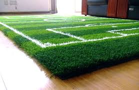 football field rug image of carpet area rugs college