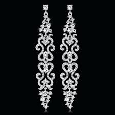black chandelier earrings uk long diamante rhinestone crystal drop dangle chandelier earrings wedding black and gold black chandelier earrings