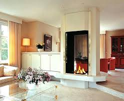 two sided fireplaces 4 sided island gas fireplace