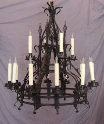 this chandelier was made in france in the mid 19th century circa 1860