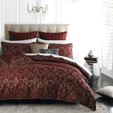 red duvet covers sets red quilt cover set by and mason collection red duvet cover sets