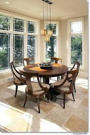 round table runner dining table
