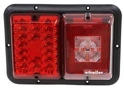 bargman triple tail light 84, 85 series red led, incandescent bargman 156016 at Bargman Tail Light Wiring Diagram