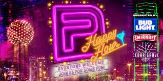 Bud Light Party Dallas Happy Hour Spring Purple Foundation Inc