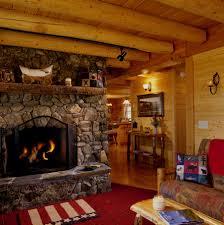 home decor amazing log cabin fireplace interior decorating ideas best simple on interior design ideas