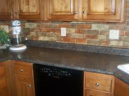 Red Brick Tiles Kitchen Fake Brick Wallpaper Hd