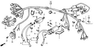 honda shadow wiring diagram honda image wiring diagram wire harness honda shadow vlx vt600c 1993 oem parts planning on on honda shadow wiring diagram