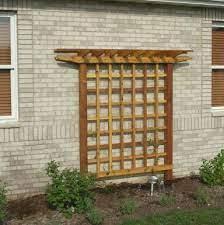 wood trellis wall trellis diy trellis