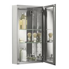 18 X 24 Medicine Cabinet Kohler 15 W X 26 H Aluminum Single Door Medicine Cabinet