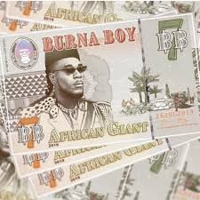 Burna Boys African Giant Debuts On Billboard 200 Albums