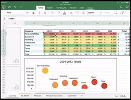 The Suite Also Includes Excel You Double Tap On Cells To