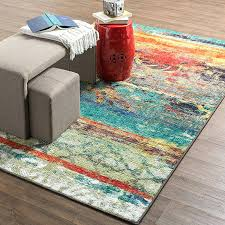 multi color rug home strata eroded distressed abstract printed area rug bright multi colored bath rugs multi color rug