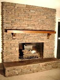 refacing brick fireplace with stone veneer renovate fireplace ideas refacing a brick fireplace with stone veneer