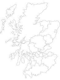map of scotland printable. Exellent Scotland Printable Outline Map Of Scotland And Its Districts On Map Of